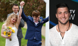 Tim Tebow Pays Surprise Visit to Newlywed Teen Battling Cancer: 'Your Faith and Attitude Inspires Me So Much'