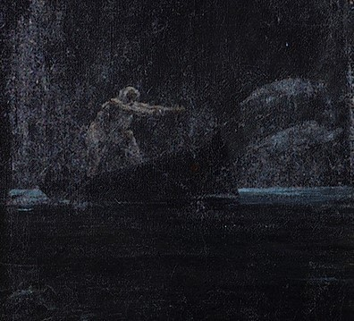 detail from Souls on the Banks of the Acherson