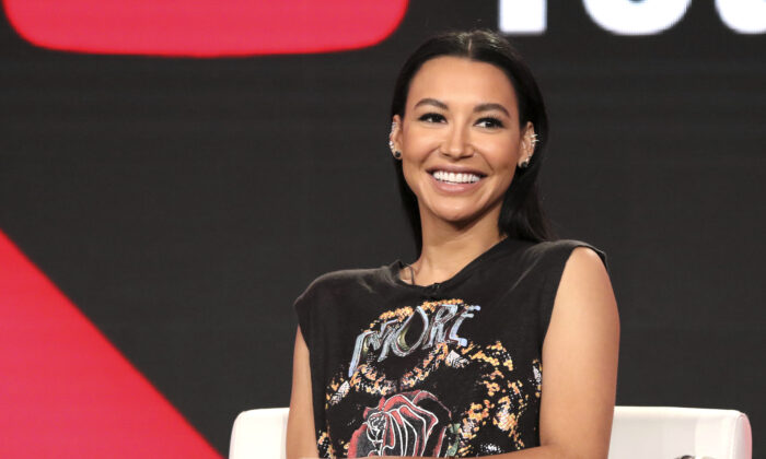 Naya Rivera participates in the 'Step Up: High Water' panel during the YouTube Television Critics Association Winter Press Tour in Pasadena, Calif., on Jan. 13, 2018. (Willy Sanjuan/Invision/AP)