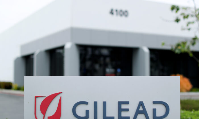 Gilead Sciences Inc pharmaceutical company is seen after they announced a Phase 3 Trial of the investigational antiviral drug Remdesivir in patients with severe coronavirus disease (COVID-19), in Oceanside, California, U.S., April 29, 2020. (Mike Blake/Reuters)