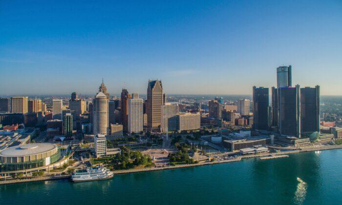 Detroit's skyline. (Vito Palmisano)