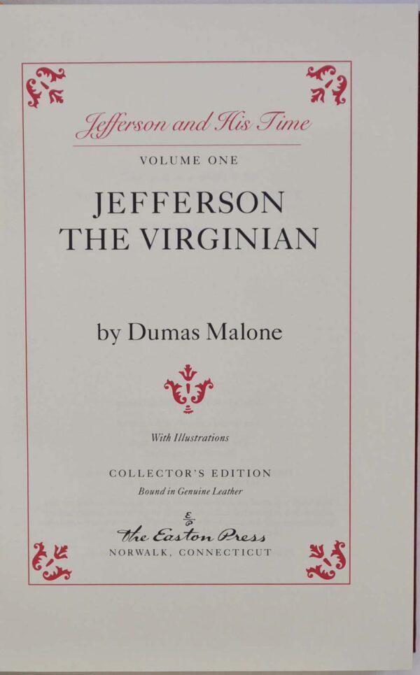 Dumas Malone's biography of Jefferson