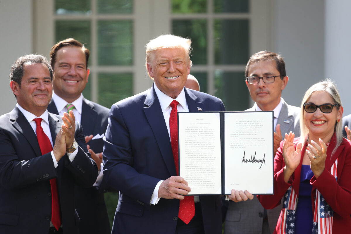 President Trump Signs White House Hispanic Prosperity Initiative