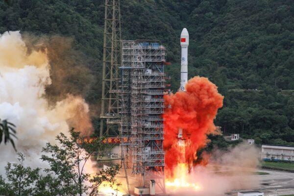 TOPSHOT-CHINA-SPACE-SATELLITE-WIRELESS