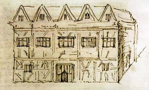 sketch of New_place_house