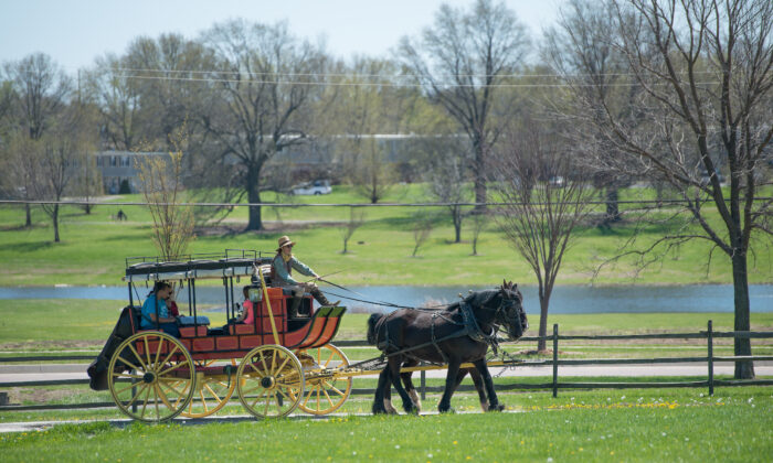 Mahaffie Stagecoach Stop & Farm. (Courtesy of Visit Kansas)