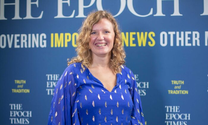 Svetlana Lokhova during an interview at The Epoch Times' American Thought Leaders program in May 2020. (The Epoch Times)