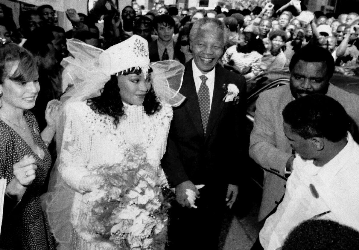 Zindzi Mandela-Nelson Mandela