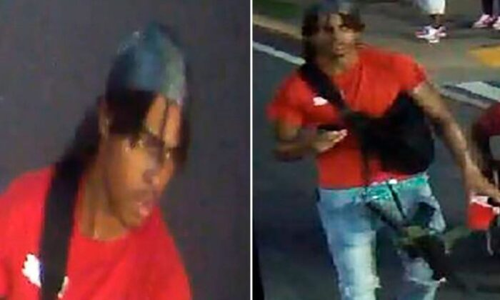 A photo released by Atlanta Police Department shows a person of interest in the shooting death of 8-year-old Secoriea Turner. (Atlanta Police Department)
