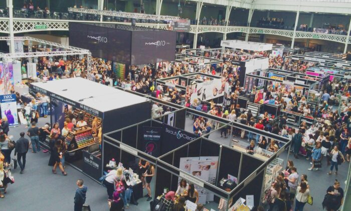 File photo showing general view of the International Make-Up Artists Trade Show (IMATS) in London (purplegillian/pixabay.com)