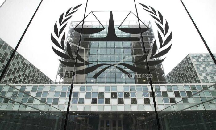 The International Criminal Court (ICC) is seen in The Hague, Netherlands, on Nov. 7, 2019. (Peter Dejong/AP Photo)