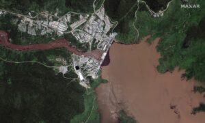 Satellite Images Show Ethiopia Dam Reservoir Swelling