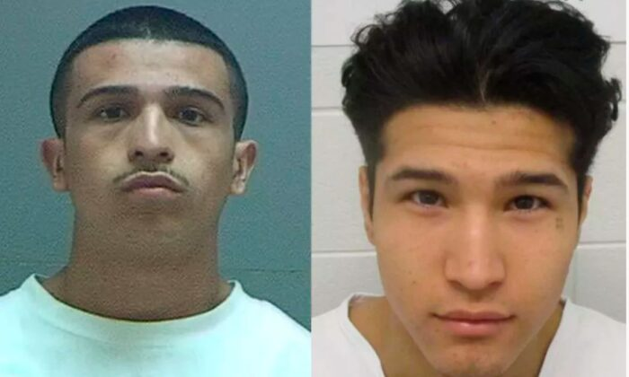 Christopher Boggs, 18, left, and his brother Lawrence Boggs, 17 (Utah Department of Corrections)