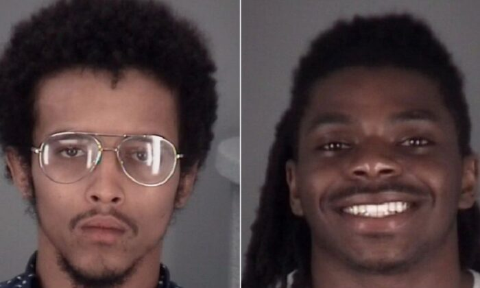 Luis Casado, left, and Khyle Durham, both 21, were identified as the two intruders who were shot and killed by a homeowner in Wesley Chapel, Fla., on July 10, 2020. (Pasco County Sheriff's Office)