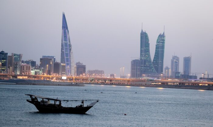 General view of Bahrain's financial district in Manama, Bahrain, on June 20, 2019. (Hamad I Mohammed/File Photo/Reuters)