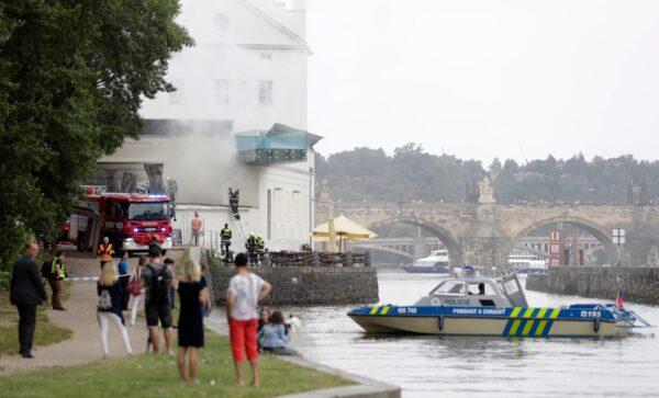 Czech-Museum Fire