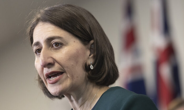 The NSW government has decided against a lockdown in dealing with rising cases of COVID-19 transmission. (William West/AFP via Getty Images)