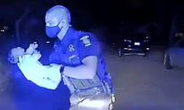 Michigan Police Officer Performs Back Thrusts on 3-Week-Old Choking Baby, Saves Her Life