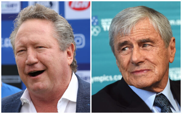 Kerry Stokes and Andrew Forrest