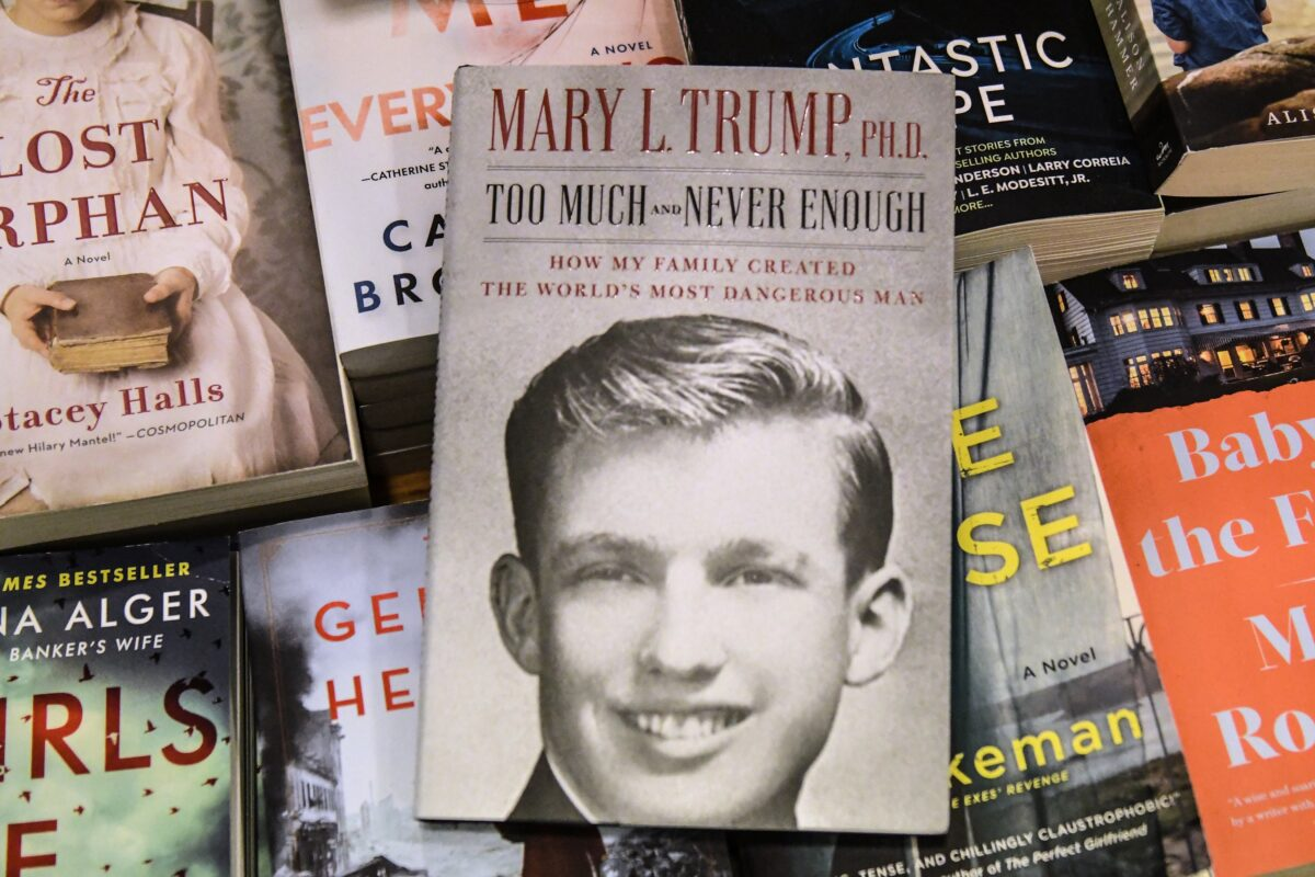 Mary Trump's book about the president a bestseller