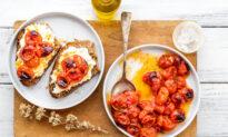 Ricotta and Roasted Tomato Crostoni (Crostoni di Ricotta e Pomodori)