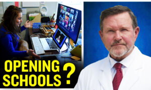 Doctor on OC Board of Education Says Social Distancing May Be Unhealthy for Kids