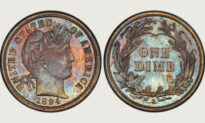 Check Your Pockets: One of These Very Rare 125-Year-Old Dimes Sold for $1.32 Million