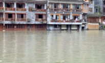 Chinese State-Run Media Describes Flooded Ancient Town as 'Fairyland'