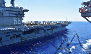 Pentagon Orders USS Nimitz Back to Persian Gulf