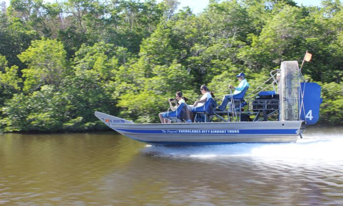 Everglades City Airboat Tours is a third-generation family-owned business. (Courtesy of Everglades City Airboat Tours)