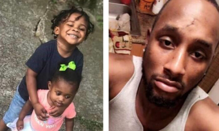 Three-year-old Zaikeith Horn and one-year-old Zyairah Hampton, of Greenville, are believed to be with Nickolas Hampton of Greenville, according to the Mississippi Bureau of Investigation. (Mississippi Bureau of Investigation)