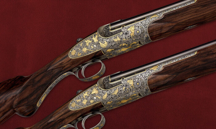 In 1812, gun-maker Thomas Boss established Boss & Co. in London. Every Boss & Co. gun is built by hand using traditional fine craftsmanship, passed from generation to generation. (Boss & Co.)