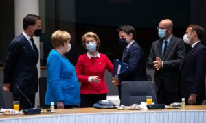 EU Leaders Resume 'Grumpy' Summit on Budget, Virus Fund