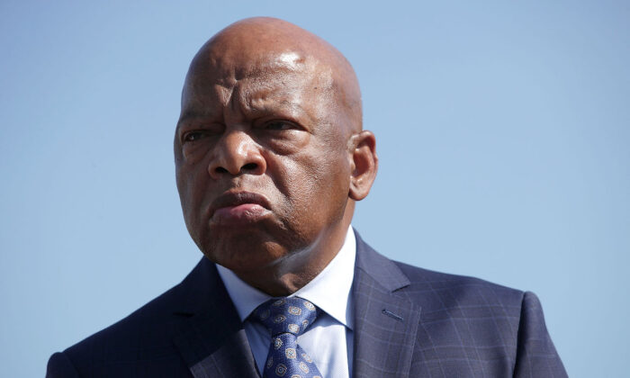 Rep. John Lewis (D-Ga.) on Capitol Hill in Washington, on Sept. 25, 2017. (Alex Wong/Getty Images)