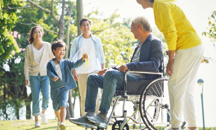 The pain of social distancing has been acute for families kept apart due to nursing home restrictions. (imtmphoto/Shutterstock)