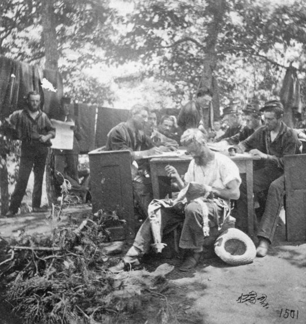 Union Soldiers Fill Downtime During Civil War