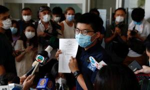 Democracy Activist Joshua Wong Launches Bid for Hong Kong Legislature