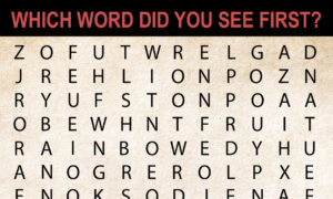 The Word You See First Can Reveal A lot About Your Personality ... and Your Biggest Obstacle