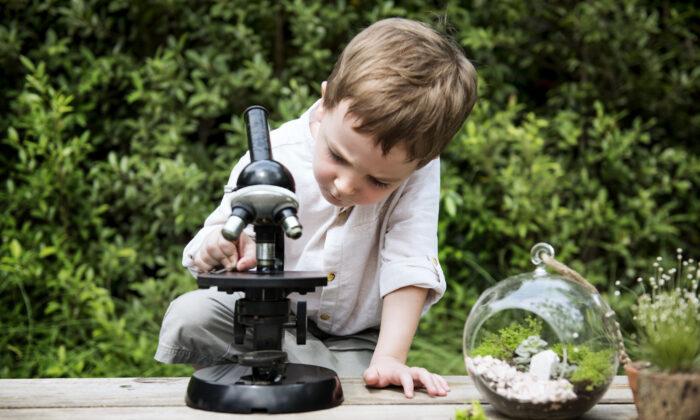 Get a globe or microscope to awaken children's curiosity. (Rawpixel.com/Shutterstock)