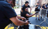 Black Street Preacher Pours Paint on 'Black Lives' Mural in NYC, 3rd Time in Less Than a Week