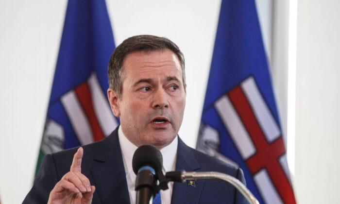 Alberta Premier Jason Kenney. (The Canadian Press/Jason Franson)