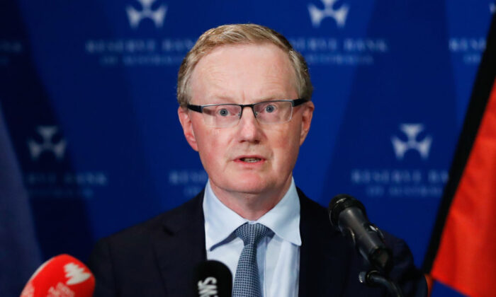 Governor of the Reserve Bank of Australia, Philip Lowe, makes a speech on March 19, 2020 in Sydney, Australia. (Brendon Thorne/Getty Images)