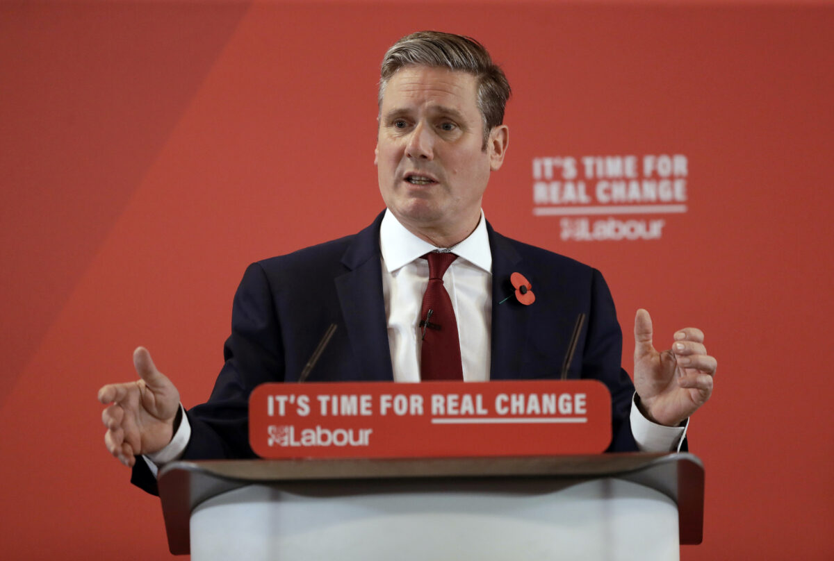UK Labour party Keir Starmer