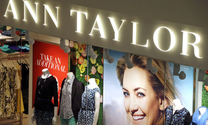An Ann Taylor store in Mount Lebanon, Pa., on March 5, 2013. (Gene J. Puskar, File/AP Photo)