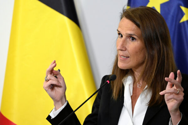 Belgium's Prime Minister Sophie Wilmes