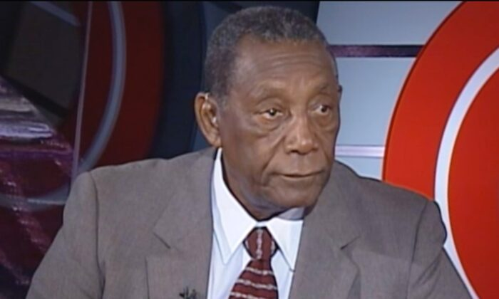 Charles Evers, the brother of civil rights leader Medgar Evers, in a still image from video. (Screenshot/CNN)