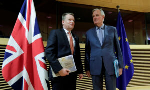 UK Trade Deal: Britain, EU Clash Over Post-Brexit Ties
