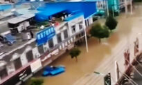 10,000 Chinese Residents Trapped Without Food or Electricity Due to Flood