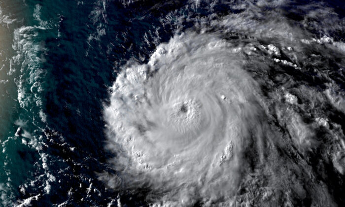 Hurricane Douglas on July 23, 2020. (CNN Weather)