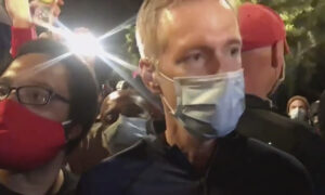 Portland Mayor Ted Wheeler Pepper-Sprayed Man Who Confronted Him Outside Pub